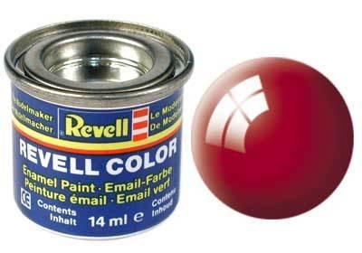 Краска  эмалевая, № 31 (огненно-красная глянцевая) Revell 32131