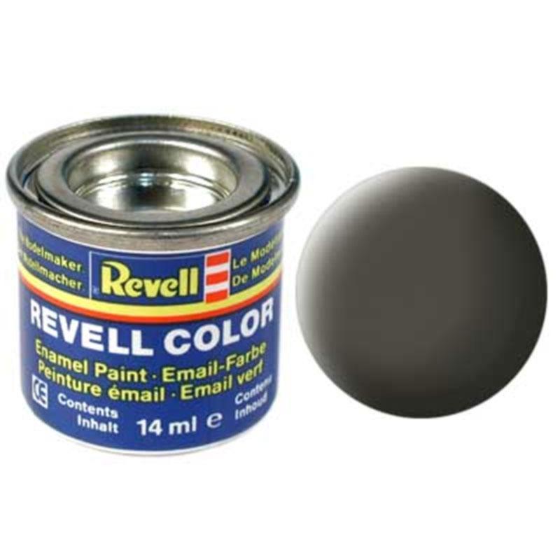 Краска  эмалевая, № 67 (зеленовато-серая матовая) Revell 32167