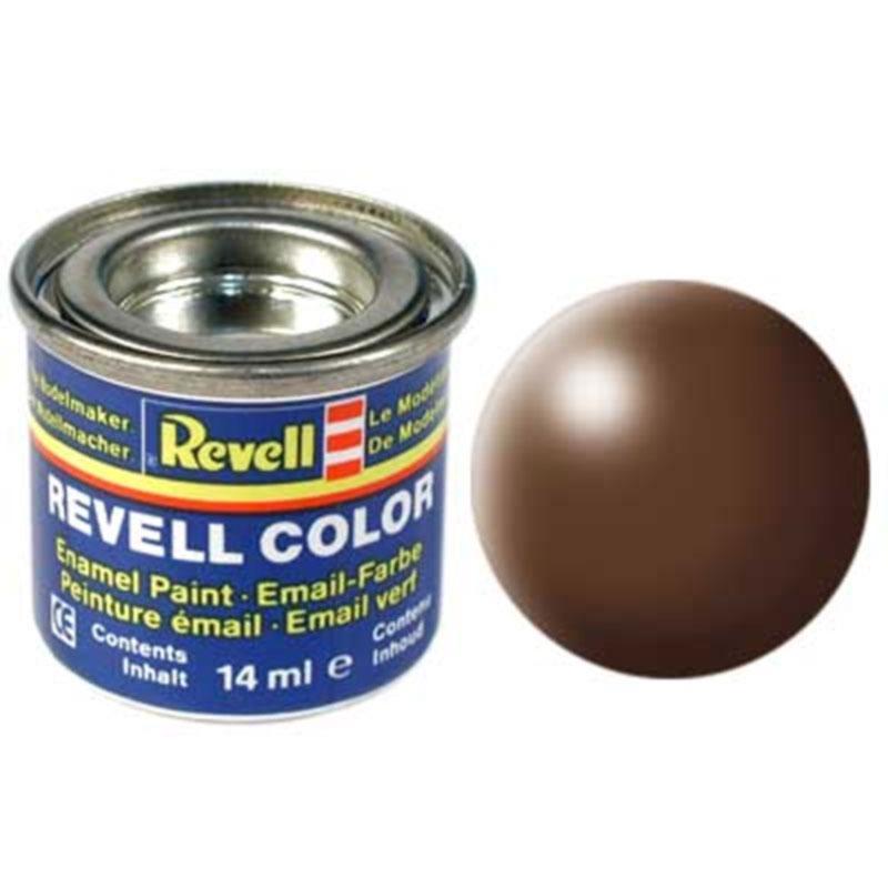Краска  эмалевая, № 381 (коричневая шелковисто-матовая) Revell 32381