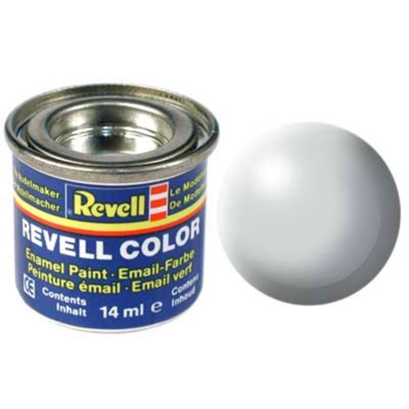 Краска  эмалевая, № 371 (светло-серая шелковисто-матовая) Revell 32371