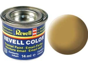 Краска  эмалевая, № 16 песочного цвета матовая Revell 32116