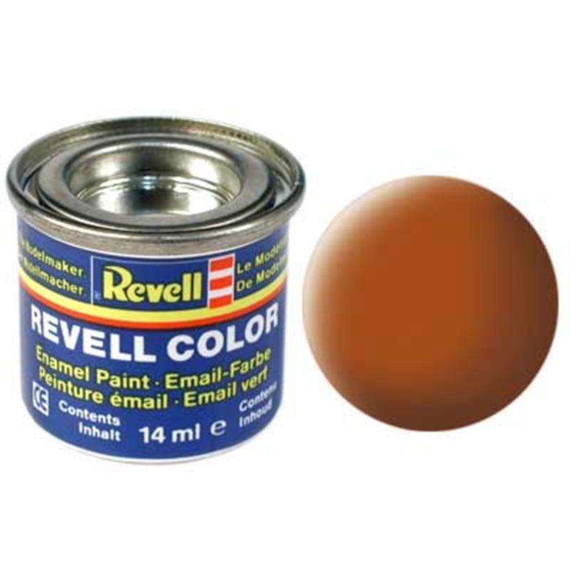 Краска  эмалевая, № 85 (коричневая матовая) Revell 32185