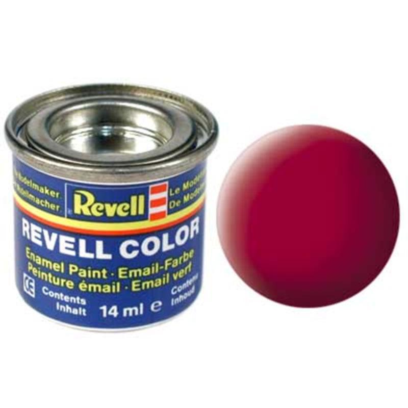 Краска  эмалевая, № 36 (карминная матовая) Revell 32136