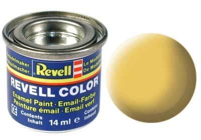 Краска  эмалевая, № 17 (африканская коричневая матовая) Revell 32117