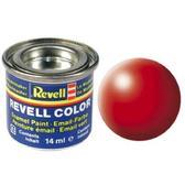Краска  эмалевая, № 332 (светящаяся красная шелковисто-матовая)