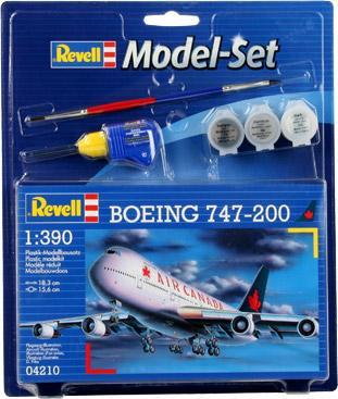 Пассажирский самолет Boeing 747-200 Revell 64210