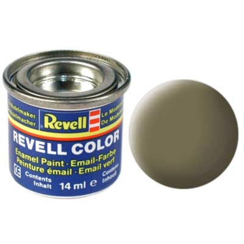 Краска  эмалевая, № 39 (темно-зеленая матовая) Revell 32139