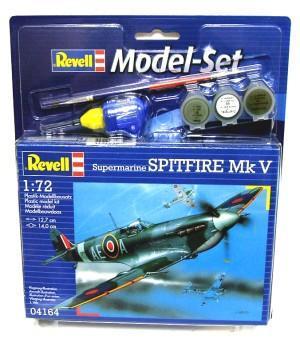 Подарочный набор с самолетом Spitfire Mk V Revell 64164