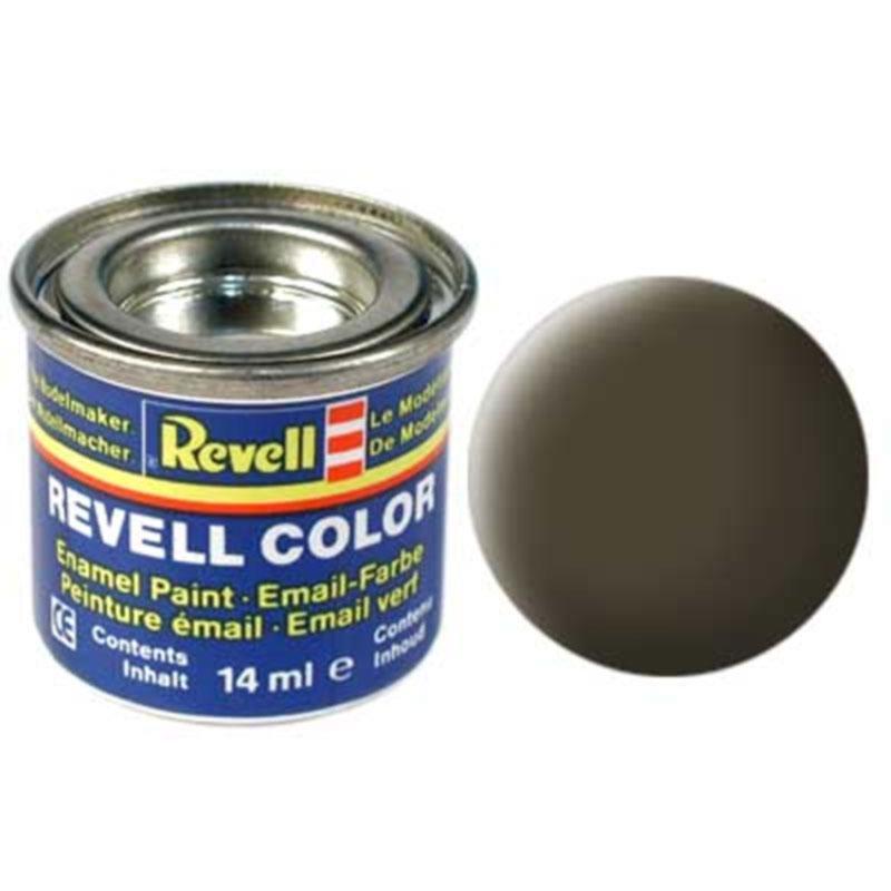 Краска  эмалевая, № 40 (черно-зеленая матовая) Revell 32140