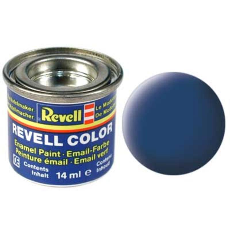 Краска  эмалевая, № 56 (синяя матовая) Revell 32156