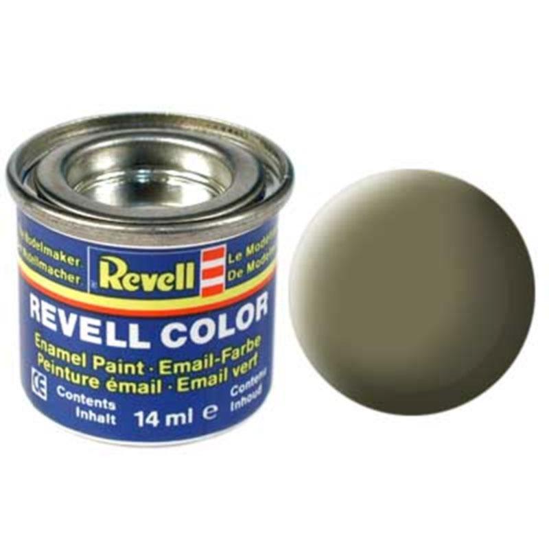 Краска  эмалевая, № 45 (светло-оливковая матовая) Revell 32145