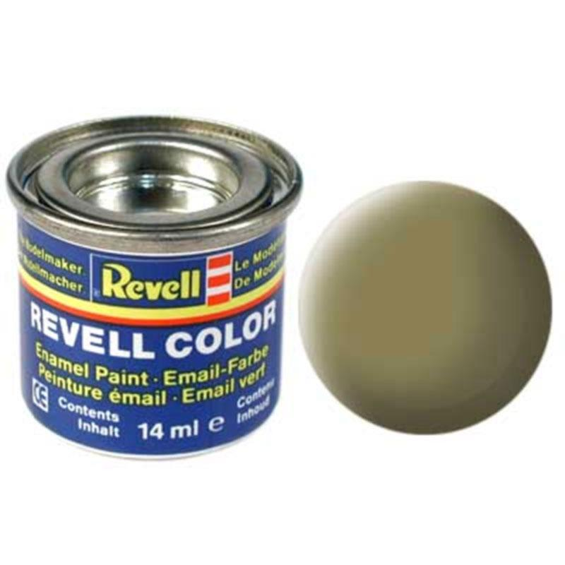 Краска  эмалевая, № 42 (желто-оливковая матовая) Revell 32142
