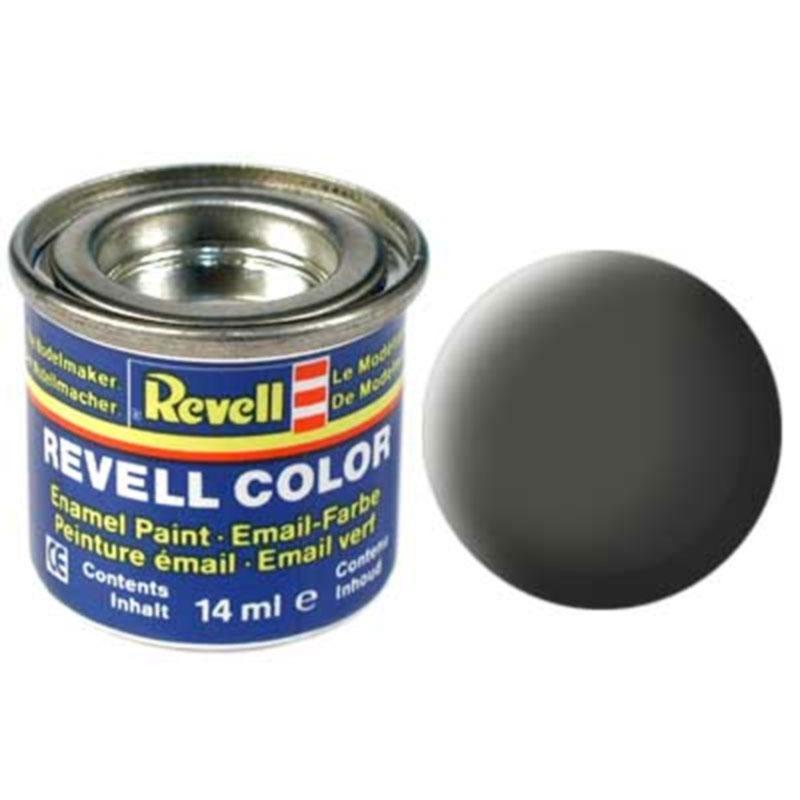 Краска  эмалевая, № 65 (бронзово-зеленая матовая) Revell 32165
