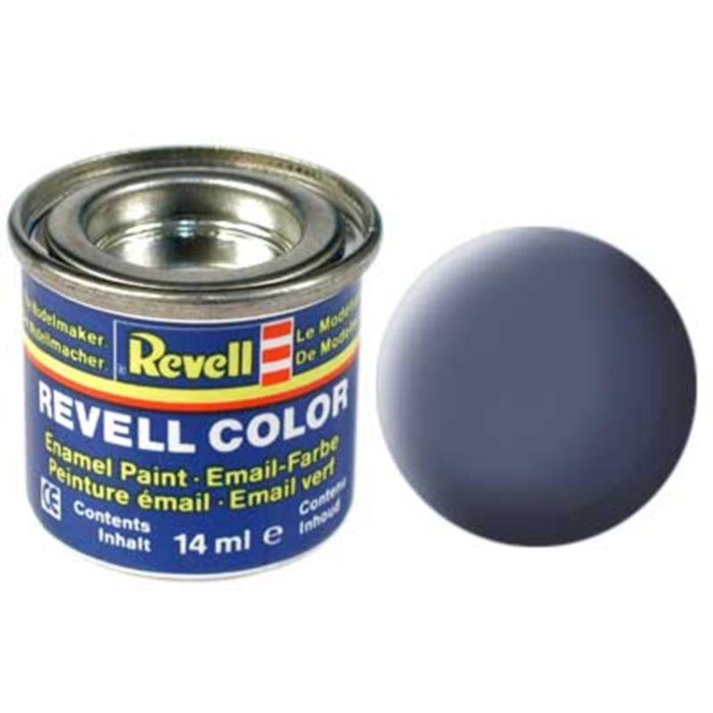 Краска  эмалевая, № 57 (серая матовая) Revell 32157