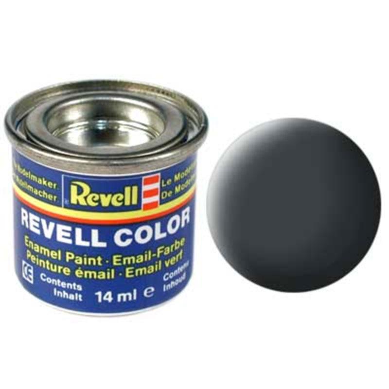 Краска  эмалевая, № 77 (серая как пыль матовая) Revell 32177