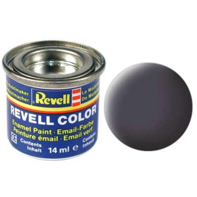 Краска  эмалевая, № 74 (серая как орудие матовая) Revell 32174