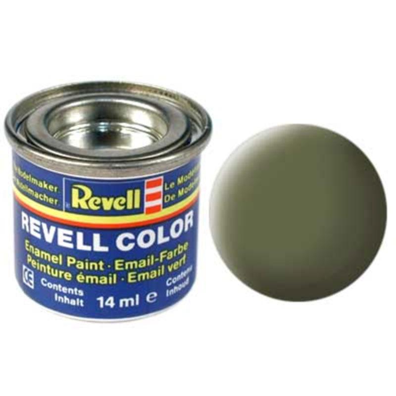 Краска  эмалевая, № 68 (темно-зеленая матовая) Revell 32168