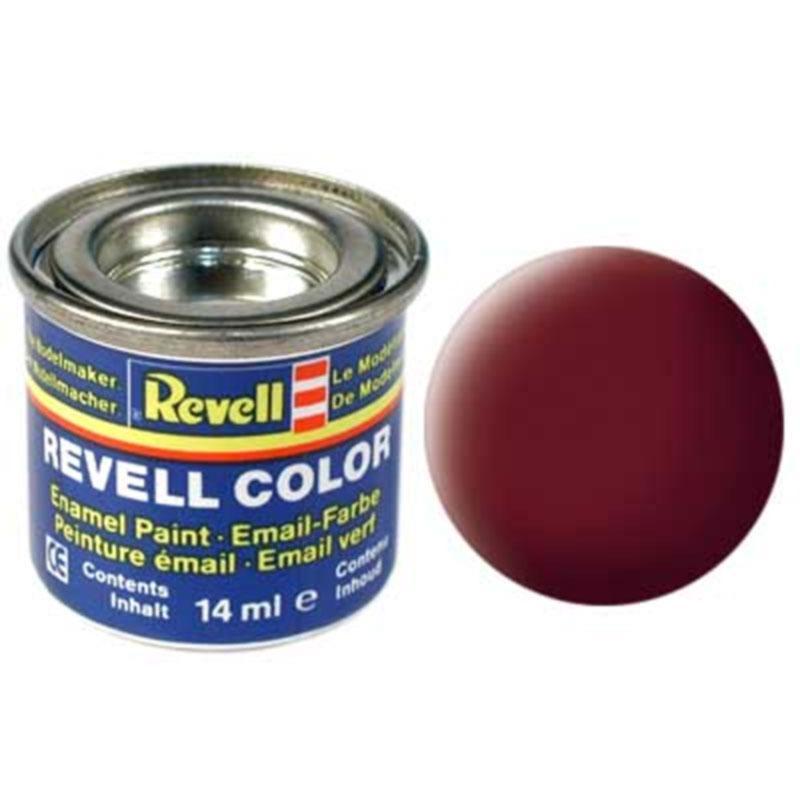 Краска  эмалевая, № 37 (кирпичного цвета матовая) Revell 32137