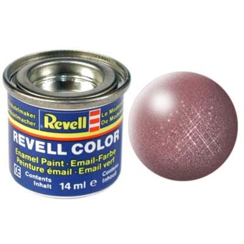 Краска  эмалевая, № 93 (цвет меди, металлик) Revell 32193