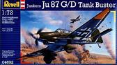 Штурмовик Юнкерс Ju 87 G/D Tank Buster