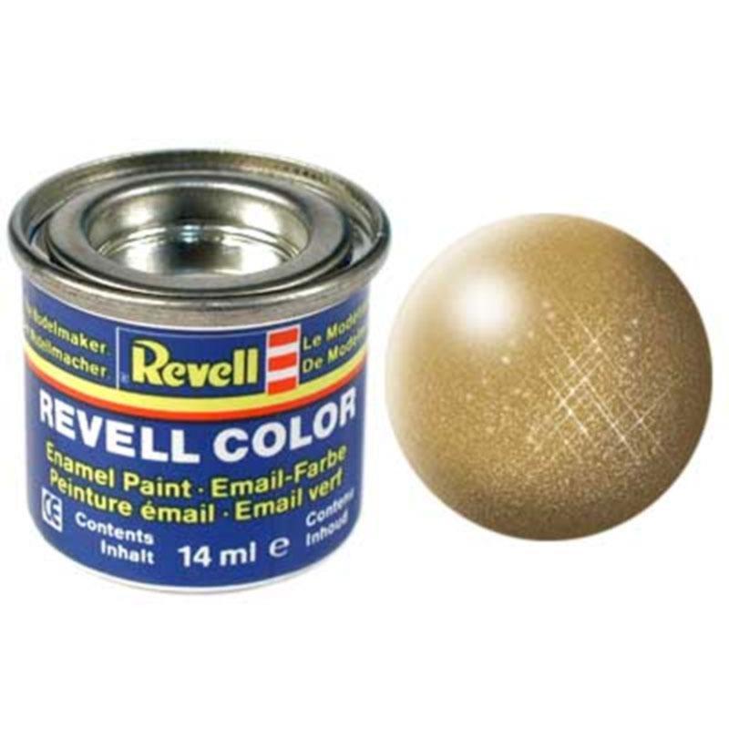 Краска  эмалевая, № 94 (золотистая металлик) Revell 32194