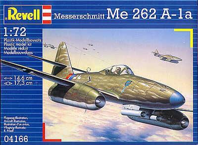 Реактивный истребитель Мессершмитт Me.262A1a Revell 04166