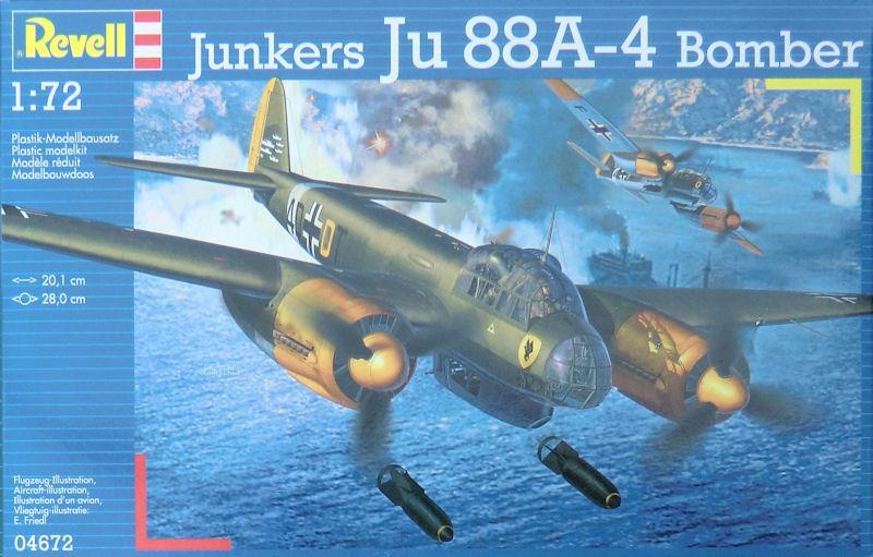 Бомбардировщик Junkers Ju88 A-4 Bomber Revell 04672