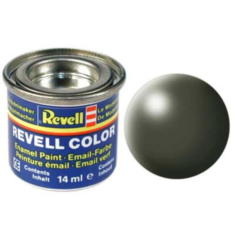 Краска  эмалевая, № 361 (оливково-зеленая шелковисто-матовая) Revell 32361