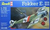 Истребитель Fokker E-III