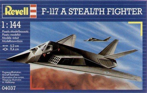 Истребитель Стелс F-117 Revell 04037