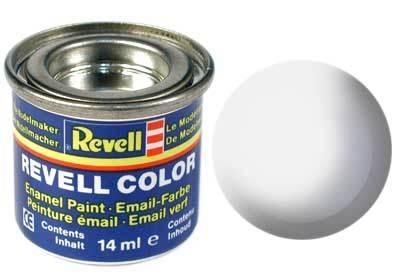 Краска  эмалевая, № 301 (белая шелковисто-матовая) Revell 32301