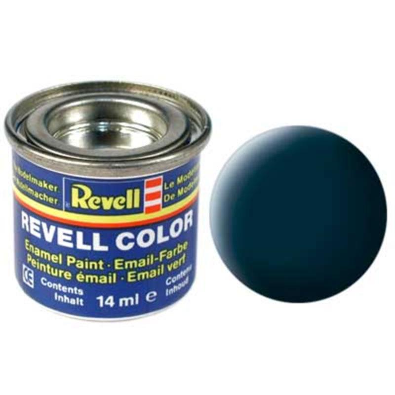 Краска  эмалевая, № 69 (гранитно-серая матовая) Revell 32169