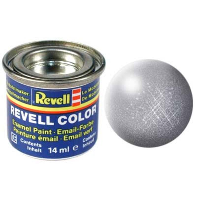 Краска  эмалевая, № 91 (цвета железа, металлик) Revell 32191