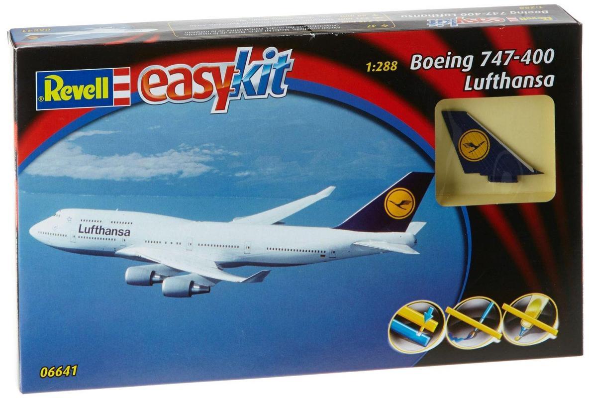 Самолет Боинг 747 'Lufthansa' Revell 06641
