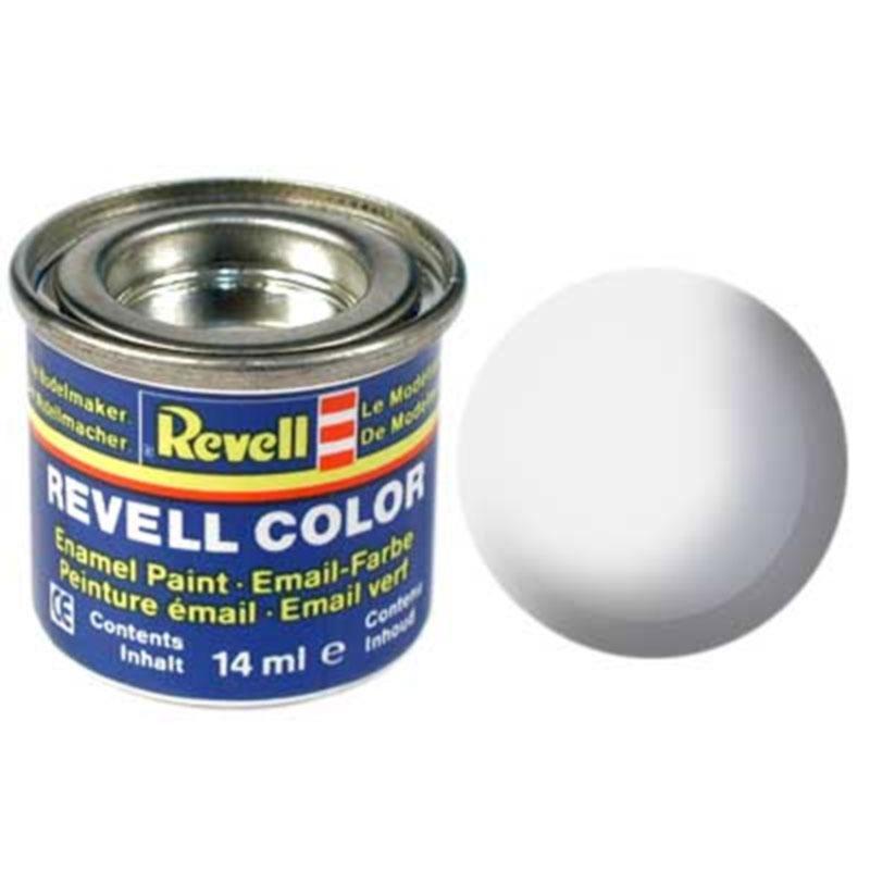 Краска  эмалевая, № 05 (белая матовая) Revell 32105