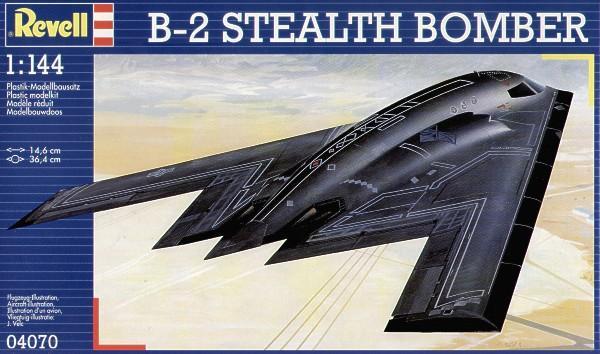 Стратегический бомбардировщик Нортроп B-2 Revell 04070