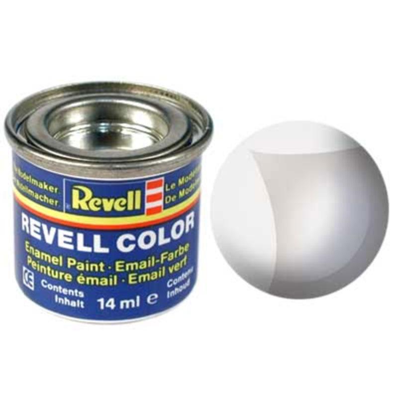 Краска  эмалевая, №01 бесцветная глянцевая (не кроющая) Revell 32101