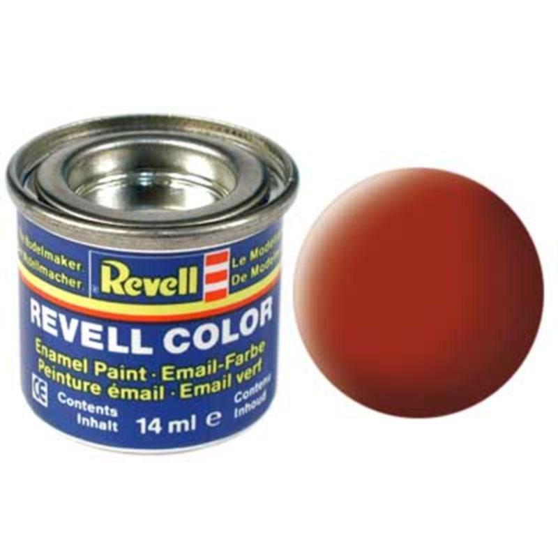 Краска  эмалевая, № 83 (цвета ржавчины матовая) Revell 32183