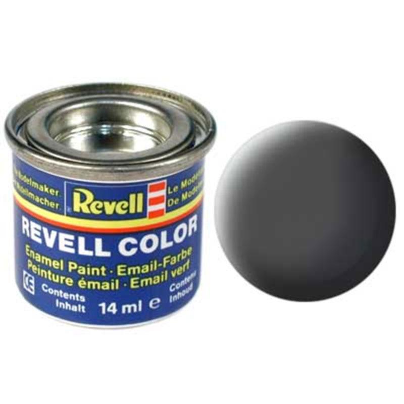 Краска  эмалевая, № 66 (оливковая серая матовая) Revell 32166