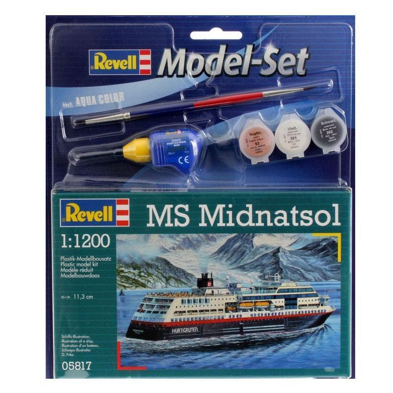Подарочный набор: модель корабля MS Midnatsol Revell 65817