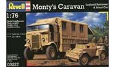 Штабной автомобиль Монтгомери Leyland Retriever и бронетранспортер Scout