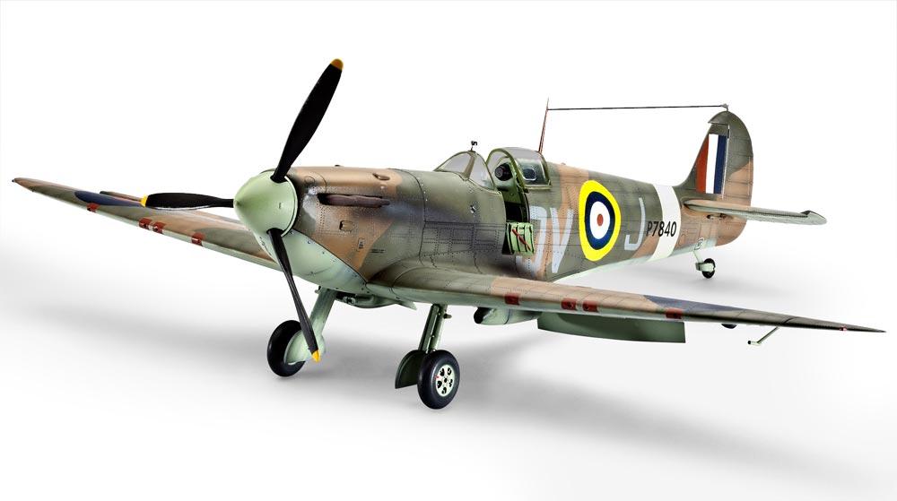 Истребитель Spitfire Mk IIa Revell 03986