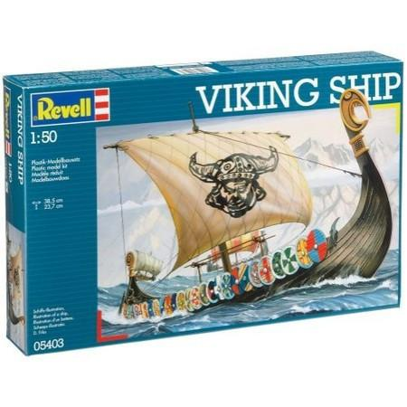 Корабль викингов (Драккар) Revell 05403