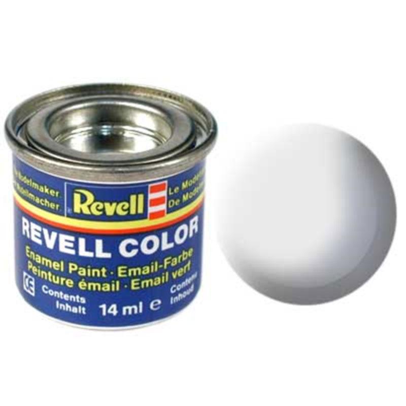Краска  эмалевая, № 76 (светло-серая матовая) Revell 32176