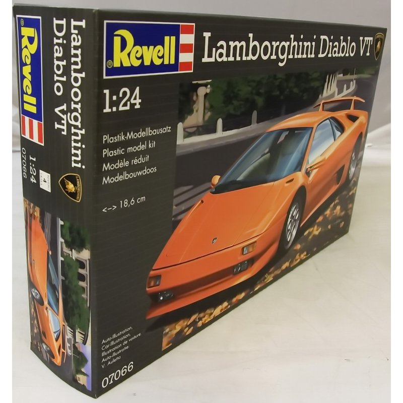 Автомобиль Lamborghini Diablo VT Revell 07066