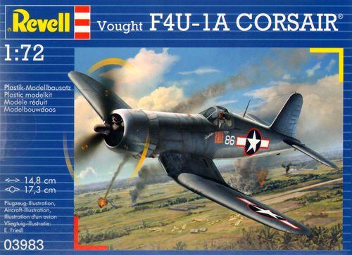 Истребитель F4U-1A Corsair Revell 03983