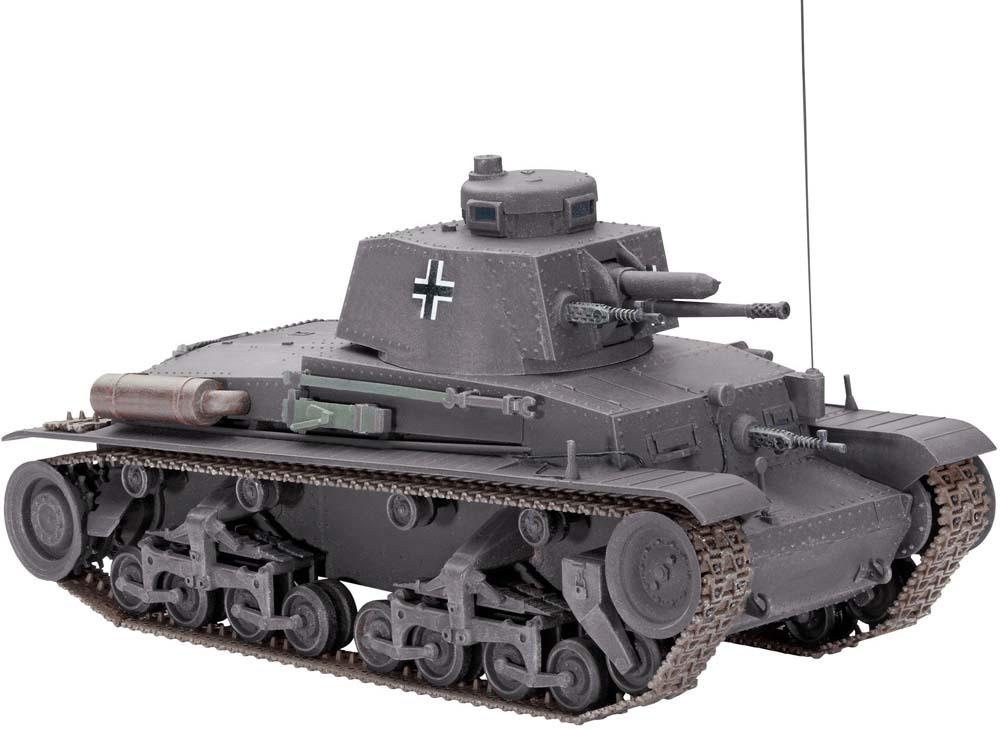 Танк Pz.Kpfw. 35(t) Revell 03237
