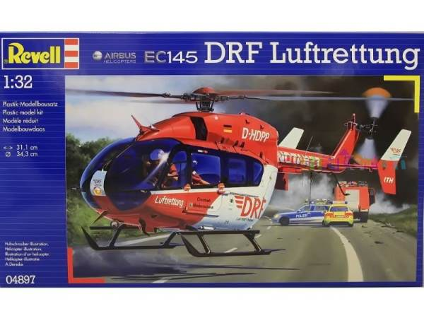 Вертолет Eurocopter EC145 DRF Revell 04897
