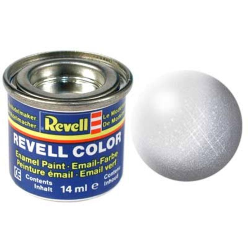 Краска  эмалевая, № 99 (цвет алюминия, металлик) Revell 32199